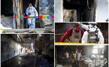 Rasti më i rëndë ishte Iraku, çfarë i bën aq të rrezikuar nga zjarret spitalet anti-Covid