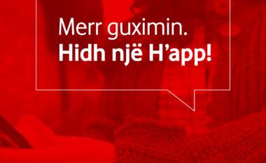 Hidh një h'app… telefono +355696796000 dhe shkarko aplikacionin!