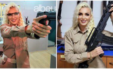 Policja joshëse nga Kosova zbulon pasionin për armët edhe jashtë orarit të punës (FOTO LAJM)
