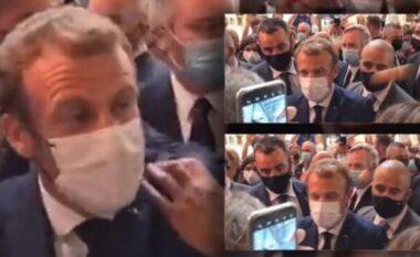 U godit me vezë, reagon Macron: Nëse ka diçka për të më thënë, le të vijë