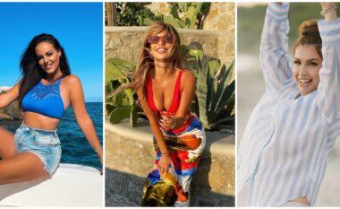 Vera s'ka mbaruar për ato, vajzat shqiptare pozojnë me bikini nga deti edhe në vjeshtë (FOTO LAJM)