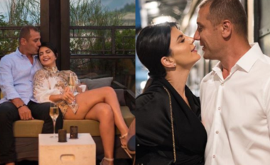 """""""Dhëndri"""", pak ditë para dasmës, Rudina Dembacaj shijon Milanon me Mark Frrokun (FOTO LAJM)"""