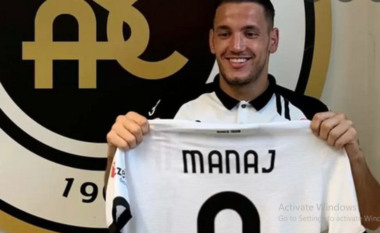 Manaj prezantohet te Spezia: Do kontriboj për qëndrimin në Serie A