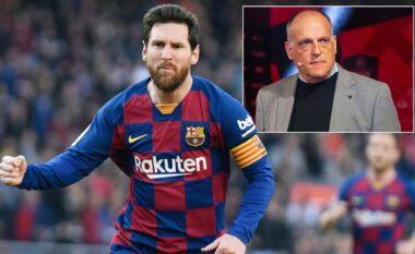 """""""Bomba"""" e presidentit të La Liga: Messin nuk e larguan për arsye ekonomike"""