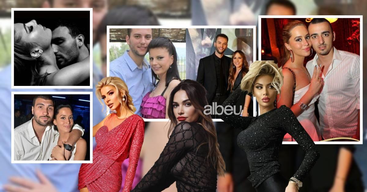 Kush përfundoi me kë? Vajzat e famshme shqiptare që kanë pasur të njëjtin të dashur (FOTO LAJM)