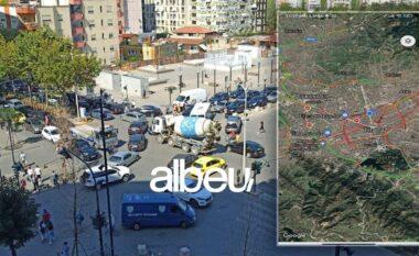 """Tirana """"kaps"""" në të gjitha rrugët! Qytetarëve iu nxihet jeta çdo ditë në trafik (FOTO LAJM)"""