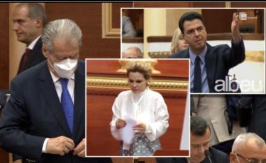 """Çfarë ndodhi në Kuvend? Përçahet """"koalicioni"""" PD-LSI, i vetmi që e ndjek Bashën është Sali Berisha"""