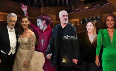 """Nga kryeministri tek artistët, si u veshën të ftuarit në inagurimin e """"Teatrit Kombëtar të Operas dhe Baletit"""" (FOTO LAJM)"""