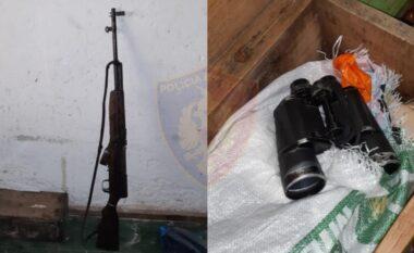 EMRI/ Sekuestrohet pushkë dhe municione luftarake në Kukës, prangoset 51-vjeçari