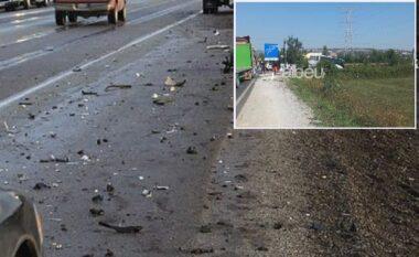 Aksident në Milot-Lezhë, autobusi me pasagjerë përplaset me trajlerin