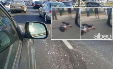 E FUNDIT/ Aksident me vdekje në Tiranë-Durrës, makina përplas për vdekje këmbësoren