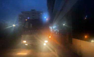 Zjarr në një banesë në Lezhë, e shuan kryefamiljari i cili pëson djegie (VIDEO)