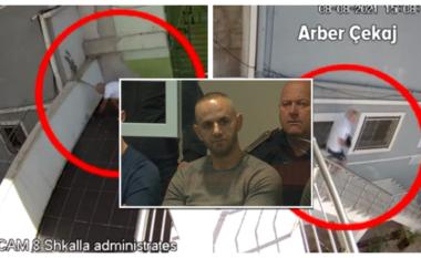 I dështoi arratisja nga burgu, Arbër Çekajn kërcënon policin: Mos të takofsha në ajrosje!