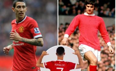 """Numrat """"7"""" të suksesshëm dhe dështimet te Man United, nga Giorge Best tek Angel Di Maria (FOTO LAJM)"""