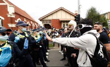 Australia shënon protestën më të dhunshme kundër masave shtrënguese ndaj Covid-19 (FOTO LAJM)