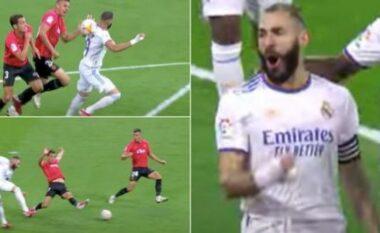 E mori topin me shpinë, goli i  Benzema është kryevepër (VIDEO)