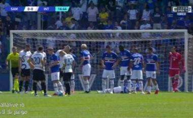 Një e majtë spektakolare, Interi zhbllokon shifrat ndaj Sampdorias (VIDEO)