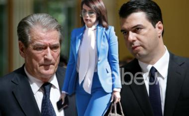 """Në krah të Bashës e kundër Berishës, Grida Duma """"mahnit"""" Kuvendin e veshur në blu (FOTO LAJM)"""