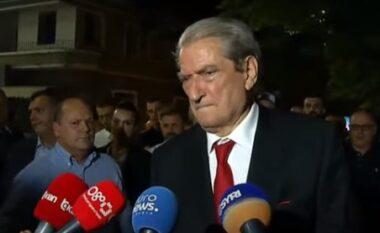 Berisha zotohet para Azem Hajdarit: Do ta ngremë PD në piedestal, Basha po na poshtëron (VIDEO)