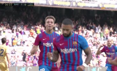 Barcelona zhbllokon rezultatin përballë Levantes (VIDEO)