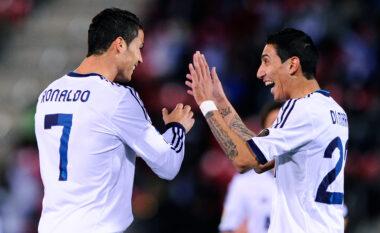 """Di Maria zbulon """"sekretin"""" e Ronaldos: Në ditëlindjen time ai piu birra me miqtë e mi"""