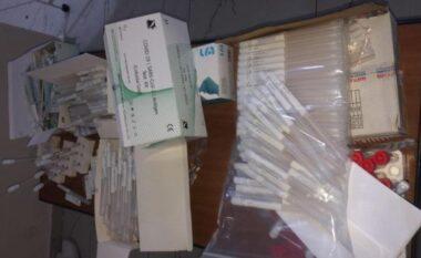483 teste COVID-19 të palicensura, në pranga 5 persona në Durrës