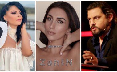 """""""Të gjitha këngët njësoj"""", albumi i ri i Elhaida Danit """"përplas"""" Aurela Gaçen me Elton Dedën (FOTO LAJM)"""