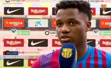 U rikthye me gol, Ansu Fati: Jemi Barcelona, duhet të luftojmë për gjithçka