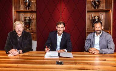 ZYRTARE/ Leon Goretzka nuk lëviz, rinovon kontratën me Bayern Munich