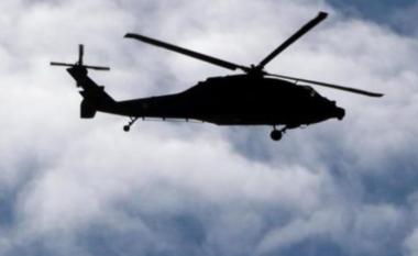 Dalin pamjet, një helikopter i dyshimtë fluturon mbi veriun e Kosovës (VIDEO)