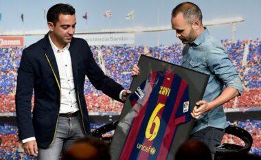 Iniesta jep lajmin e madh: Xavi është gati për stolin e Barcelonës
