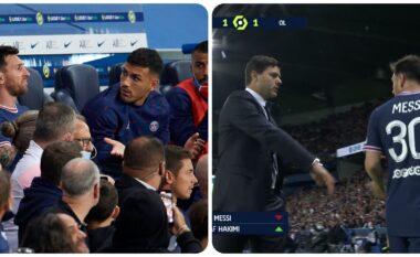 Plas në Paris: Pochettino e zëvendësoi, Messi refuzoi t'i shtrëngonte dorën (VIDEO+FOTO)