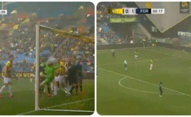Ky gol spektakolar nga korneri nuk duhet humbur (VIDEO)