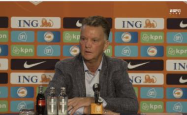 E nisi me barazim, Van Gaal nuk i pranon kritikat: Gaboheni nëse mendoi se kemi skuadrën më të mirë në botë