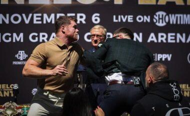"""""""Mos më shaj nga nëna"""", plas grushti gjatë konferencës për shtyp të boksierëve (VIDEO)"""