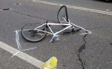 Aksident i rëndë në Lezhë-Milot, makina përplas burrin me biçikletë