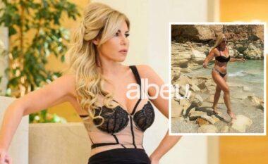 """Sfidon vajzat e reja, Manjola Nallbani publikon fotot më të """"nxehta"""" të verës (FOTO LAJM)"""