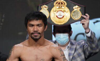 ZYRTARE/ Synon të bëhet president i Filipineve, Pacquiao njofton pensionimin nga boksi