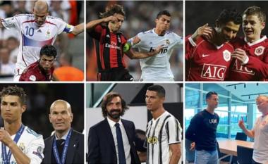 Jetëgjatësia e Cristiano Ronaldos: Luajti me Zidane, Pirlo dhe Solskjaer