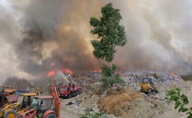 Zjarri përfshin mbetjet në fushën e Patosit, puset e naftës ndodhen në rrezik
