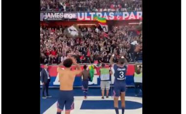 Vijnë problemet e para të Messit te PSG, numri 10 nuk i bashkohet festës së ekipit (VIDEO)