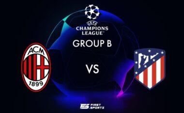 CHAMPIONS/ Milan – Atletico Madrid, statisktikat dhe formacionet e mundshme (FOTO LAJM)