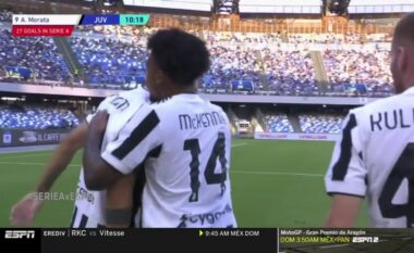 Juventusi zhbllokon rezultatin përballë Napolit (VIDEO)