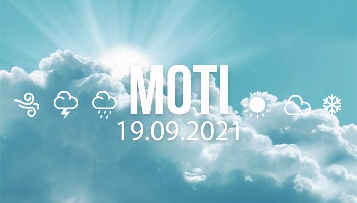 Moti për ditën e dielë, 19 shtator 2021