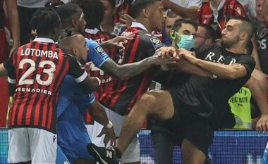 Përleshja mes lojtarëve dhe tifozëve në Nice – Marseille, merret vendimi nga disiplina