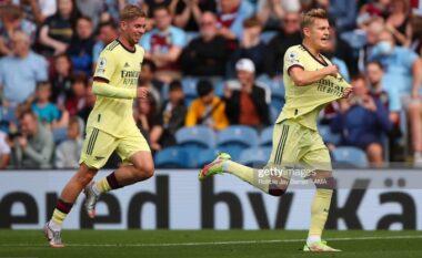Fantastik Odegaard, Arsenali kalon në avantazh ndaj Burnley (VIDEO)