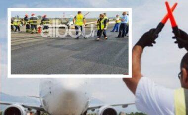 Ankth në Rinas, defekt në rrota gjatë uljes së avionit