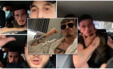 """Ishte """"live"""" në Instagram, si e kërcënuan me lëndë plasëse Kozak Braçin para pengmarrjes (VIDEO)"""