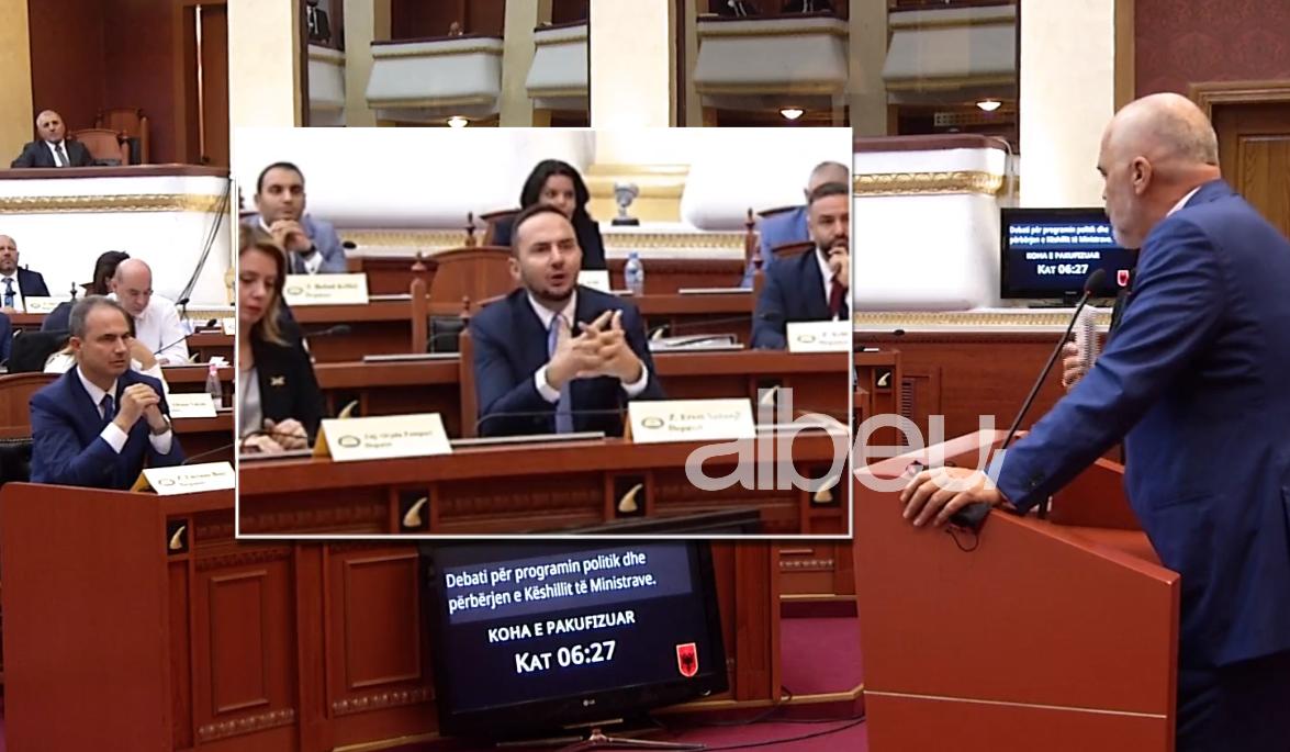 Rama përplaset me Salianjin në Kuvend: Mos abuzoni?! Pse ça do të bësh ti?