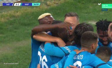 Napoli dyfishon rezultatin ndaj Udineses, realizon Rrahmani (VIDEO)